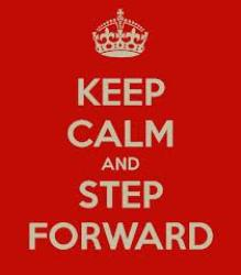 keepcalmandstepforward
