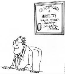 certificateofhumility